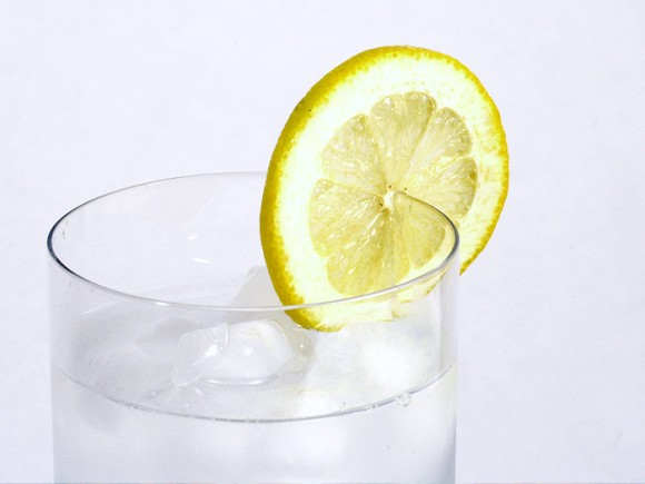 Iced Water with Lemon