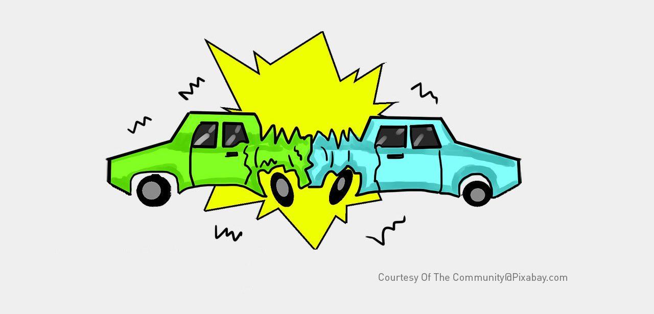 Cartoon Car Crash